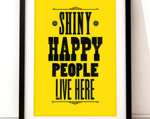 shiny happy people
