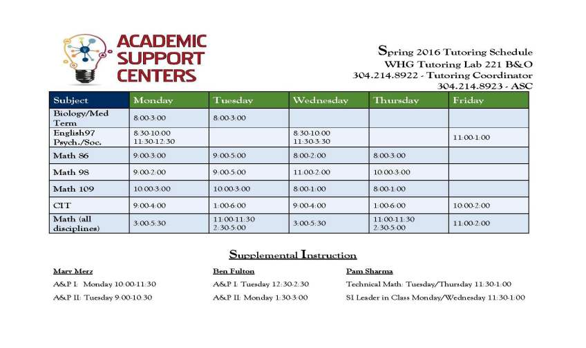 ASC Tutoring Schedule Spring 2016_Page_1