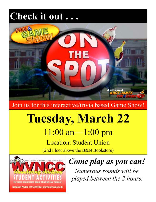 On The Spot Flier (03-22-2016)